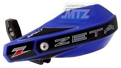 Obrázek produktu Chrániče/kryty páček ZETA IMPACT X1 HANDGUARD - Barva: Červená ZE740104