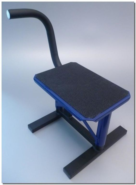 Obrázek produktu Stojan / stojánek MX cross s gumou modrý 2H-MOD1A-03/02