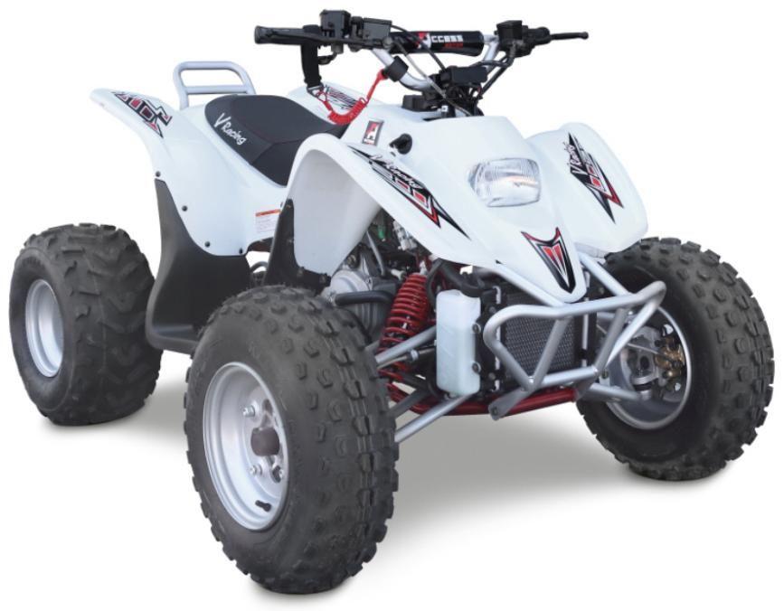Obrázek produktu Juniorská ATV ACCESS DRR 100 RACE bílá