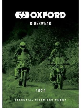 Obrázek produktu katalog moto oblečení 2020, mezinárodní vydání, OXFORD PC125