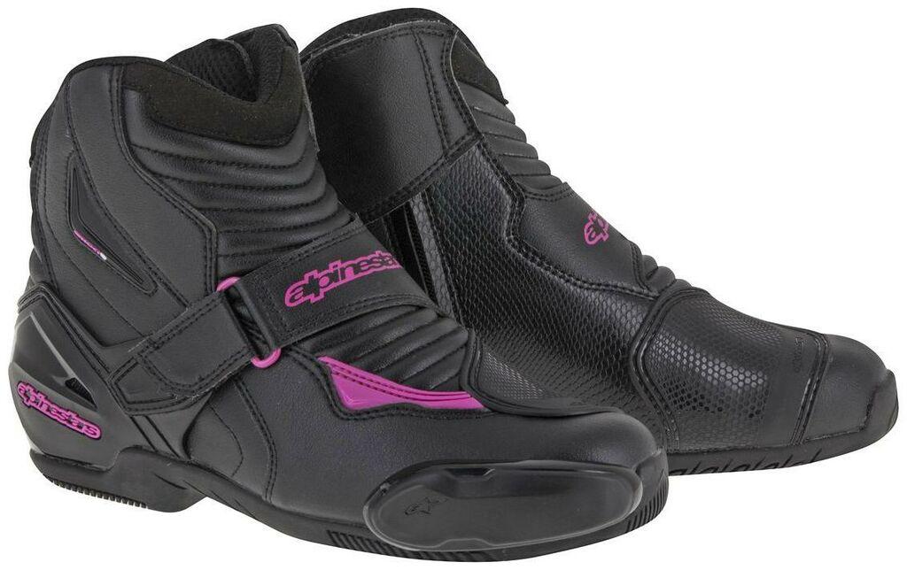 Obrázek produktu boty STELLA SMX-1 R, ALPINESTARS (černé/fialové) NEMÁ