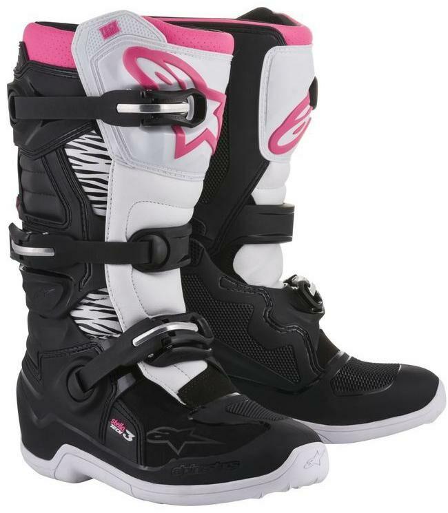 Obrázek produktu boty STELLA Tech 3 2021, ALPINESTARS (černé/bílé/růžové) NEMÁ