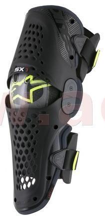 Obrázek produktu chrániče kolen SX-1 2020, ALPINESTARS (černé antracit/žluté fluo, pár) NEMÁ