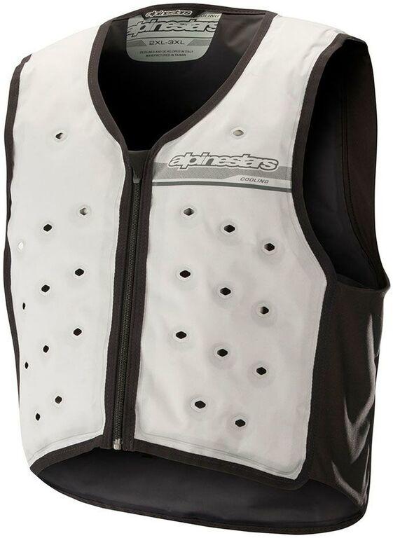 Obrázek produktu chladící vesta COOLING VEST, ALPINESTARS (bílá/černá) NEMÁ