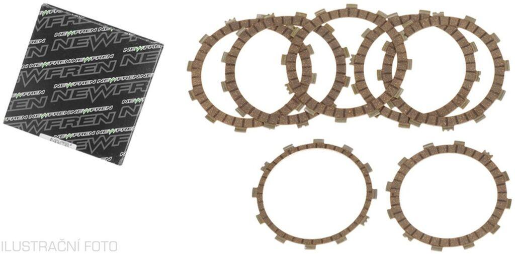 Obrázek produktu sada spojkových lamel (STANDARD směs), NEWFREN (5 ks)