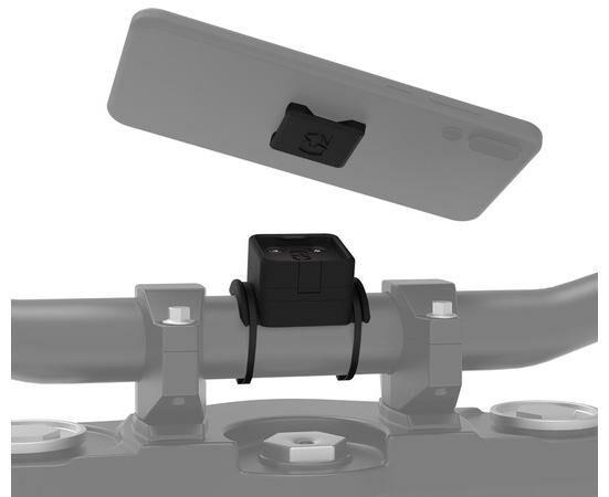 Obrázek produktu držák mobilních telefonů/kamer/navigací CLIQR, sada pro upevnění pomocí zdrhovacích pásek, OXFORD OX851
