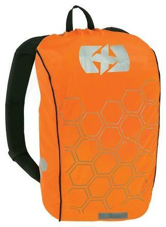 Obrázek produktu reflexní obal/pláštěnka batohu Bright Cover, OXFORD (oranžová/reflexní prvky, Š x V = 640 x 720 mm) RE101O