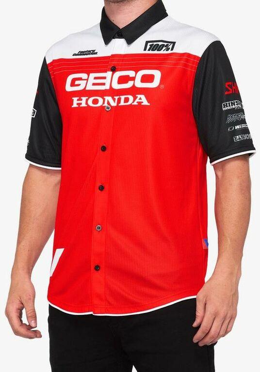 Obrázek produktu košile BLITZ, 100% (červená/bílá/černá) 33903-003