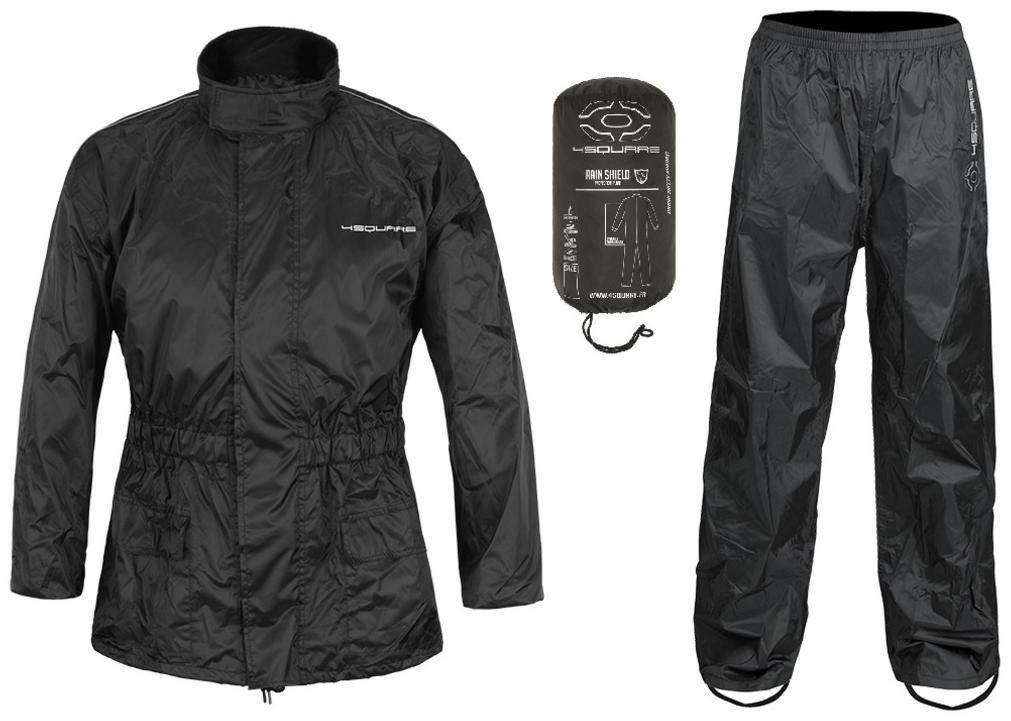 Obrázek produktu bunda a kalhoty LOW, NOX/4SQUARE (černá, reflexní prvky) ENSNLOW