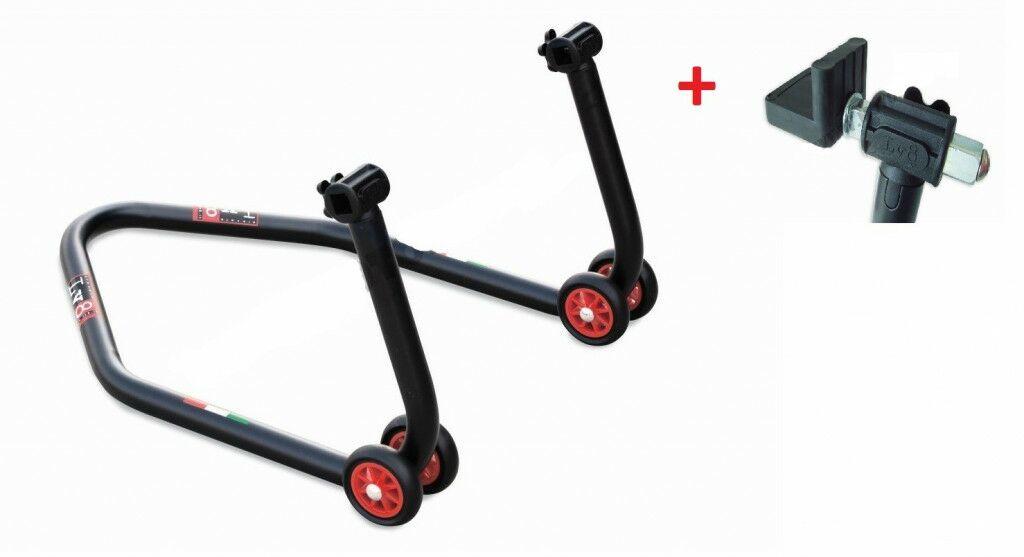 Obrázek produktu Zadní stojánek LV8 DIAVOL s pryžovými čepy k zadnímu stojánku