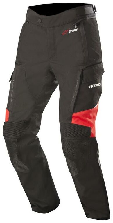 Obrázek produktu kalhoty ANDES Drystar HONDA kolekce, ALPINESTARS (černá/červená)