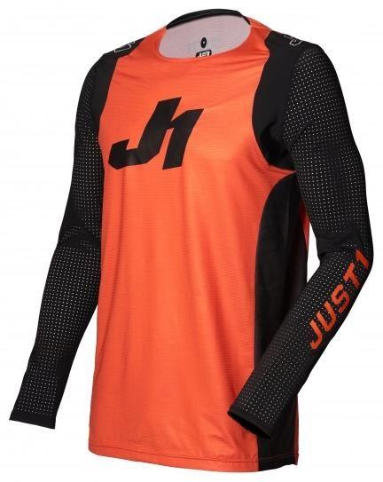 Dětský dres JUST1 J-FLEX ARIA oranžovo/černý (Velikost: L)