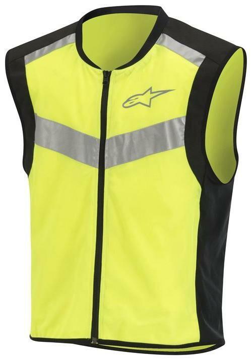 Obrázek produktu reflexní vesta FLARE NEON, ALPINESTARS (černá/žlutá fluo)