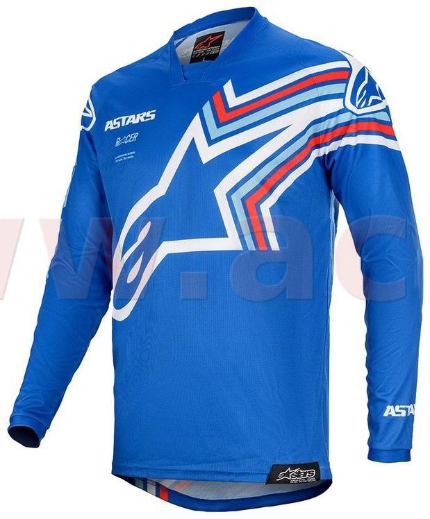 Obrázek produktu dres RACER BRAAP 2020, ALPINESTARS, dětské (modrá/bílá) 3771420-7250