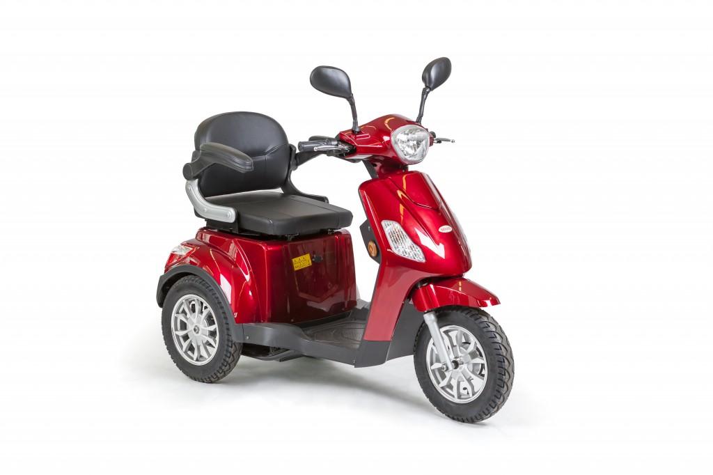 Obrázek produktu Tříkolový elektrický vozík s elektromagnetickou brzdou SELVO 3500 EB