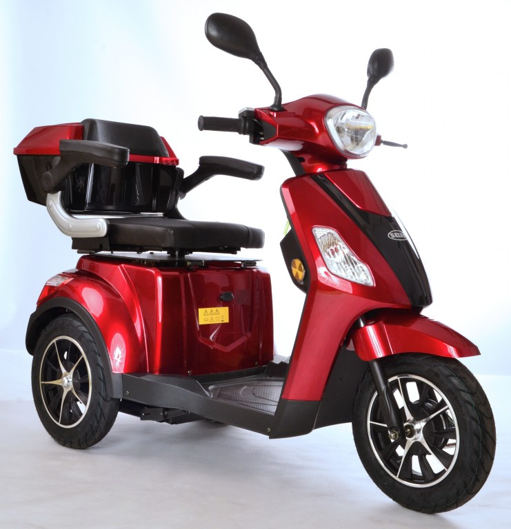 Obrázek produktu Vozík s elektromagnetickou brzdou a otočnou sedačkou SELVO 3500 EBs