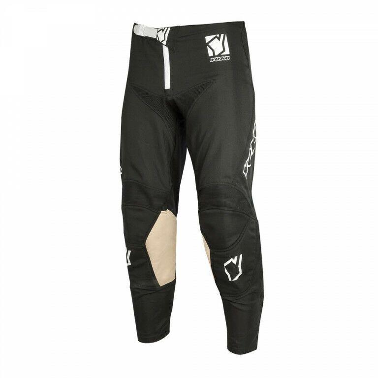 Obrázek produktu Motokrosové dětské kalhoty YOKO SCRAMBLE černá 20 68-176803-20