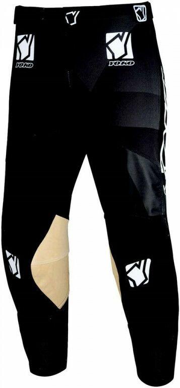 Obrázek produktu Motokrosové dětské kalhoty YOKO KISA černá 24 68-196803-24