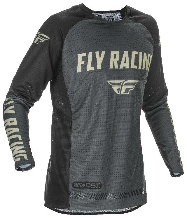 Obrázek produktu dres EVOLUTION 2021, FLY RACING (černá/šedá) 374-126