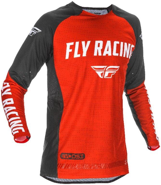 Obrázek produktu dres EVOLUTION 2021, FLY RACING - USA (červená/černá/bílá) 374-122