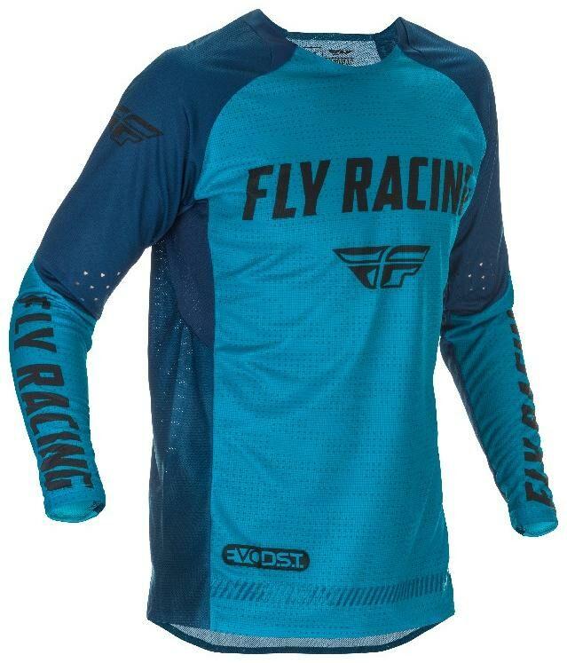 Obrázek produktu dres EVOLUTION 2021, FLY RACING (modrá/černá) 374-121