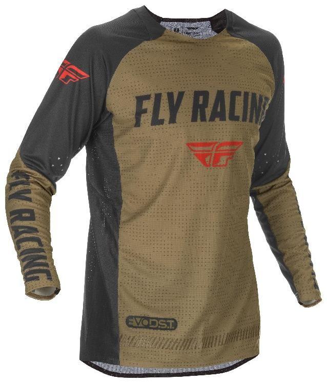 Obrázek produktu dres EVOLUTION 2021, FLY RACING - USA (zelená/černá/červená) 374-127