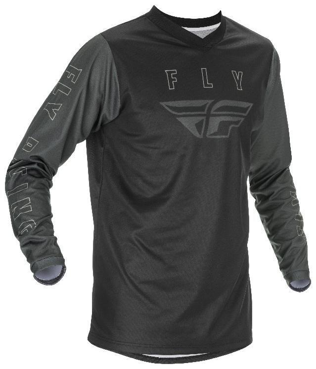 Obrázek produktu dres F-16 2021, FLY RACING (černá/šedá) 374-920