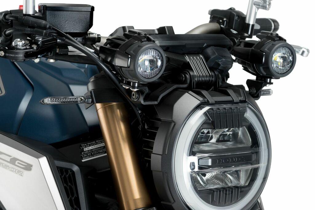 Obrázek produktu Adaptéry pro přídavná světla PUIG černý set