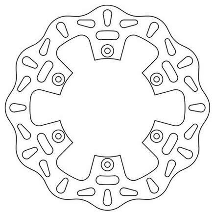 Obrázek produktu brzdový kotouč zadní (Yamaha), NEWFREN