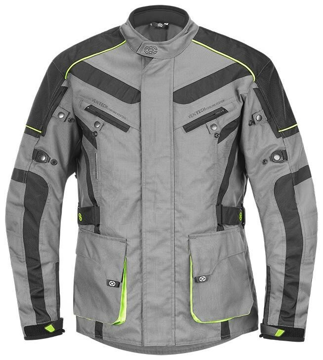 Obrázek produktu enduro bunda DISCOVERY, 4SQUARE - pánská (šedo-žlutá) VESTDISCOVERYHJAUN