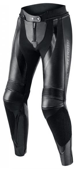Obrázek produktu Dámské moto kalhoty REBELHORN REBEL LADY černé kožené