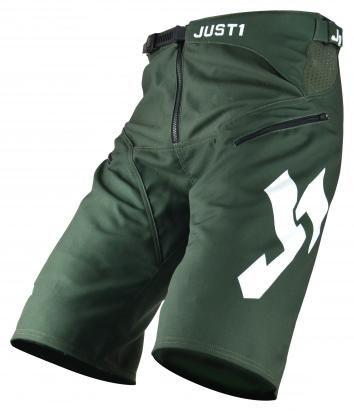 Obrázek produktu Šortky JUST1 J-FLEX MTB HYPE army zeleno/černo/bílé