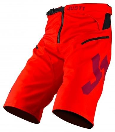 Obrázek produktu Šortky JUST1 J-FLEX MTB HYPE červené