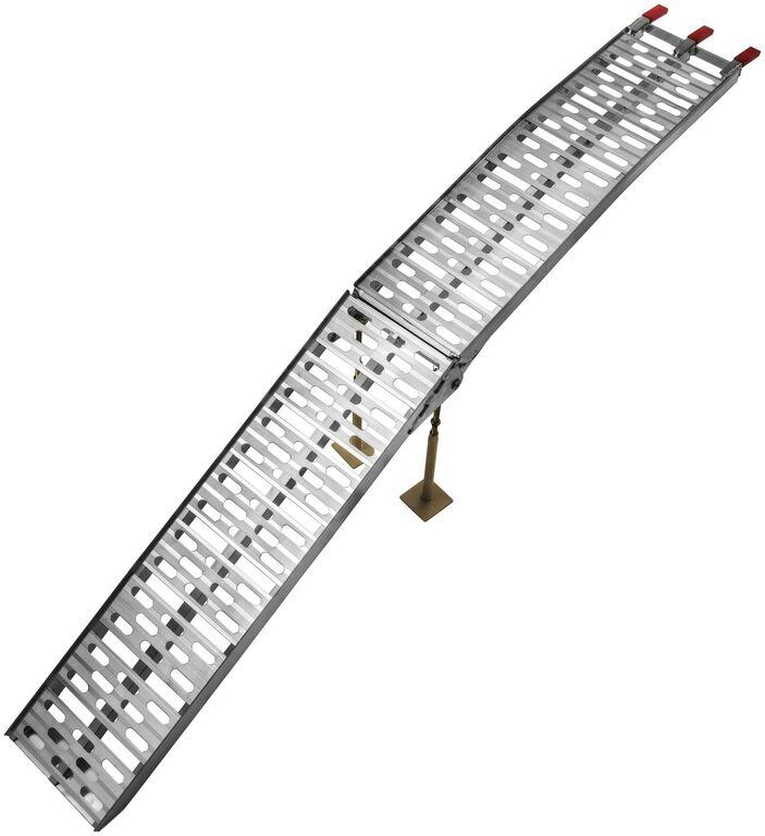 Obrázek produktu nájezdová rampa HD - skládací - hliníková (s podpěrou), Q-TECH (1 ks) AR07-S-foot