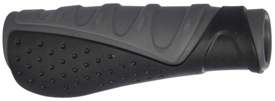 Obrázek produktu gripy ERGO, OXFORD (šedé/černé, trojkomponentní, délka 173 mm, 1 pár) HG573
