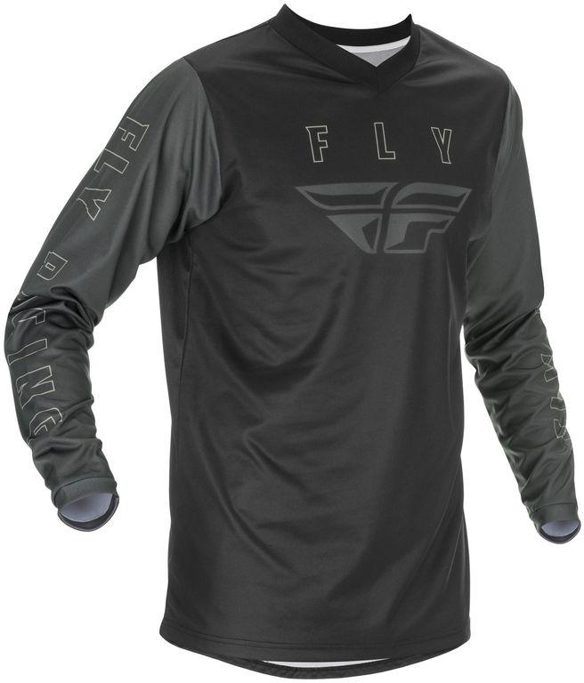 Obrázek produktu dres F-16 2021, FLY RACING dětský (černá/šedá) 374-920Y