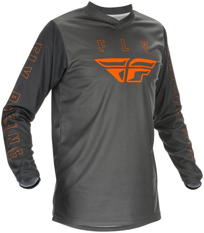 Obrázek produktu dres F-16 2021, FLY RACING dětský (šedá/oranžová) 374-926Y
