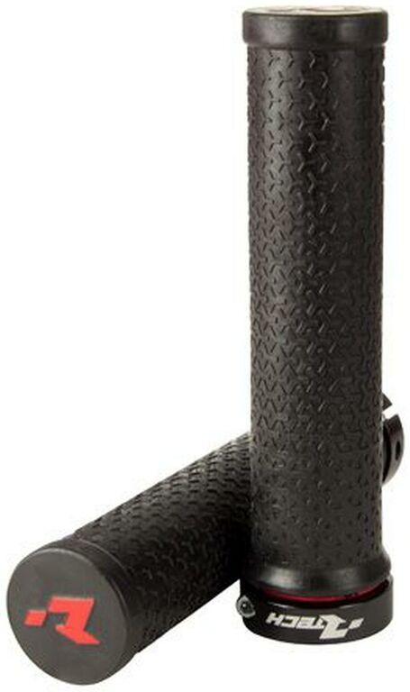 Obrázek produktu gripy lock-on R20, RTECH (černé, 1 pár) B-MPRBIKENR20