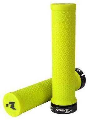 Obrázek produktu gripy lock-on R20, RTECH (neon žluté, 1 pár) B-MPRBIKEGF20