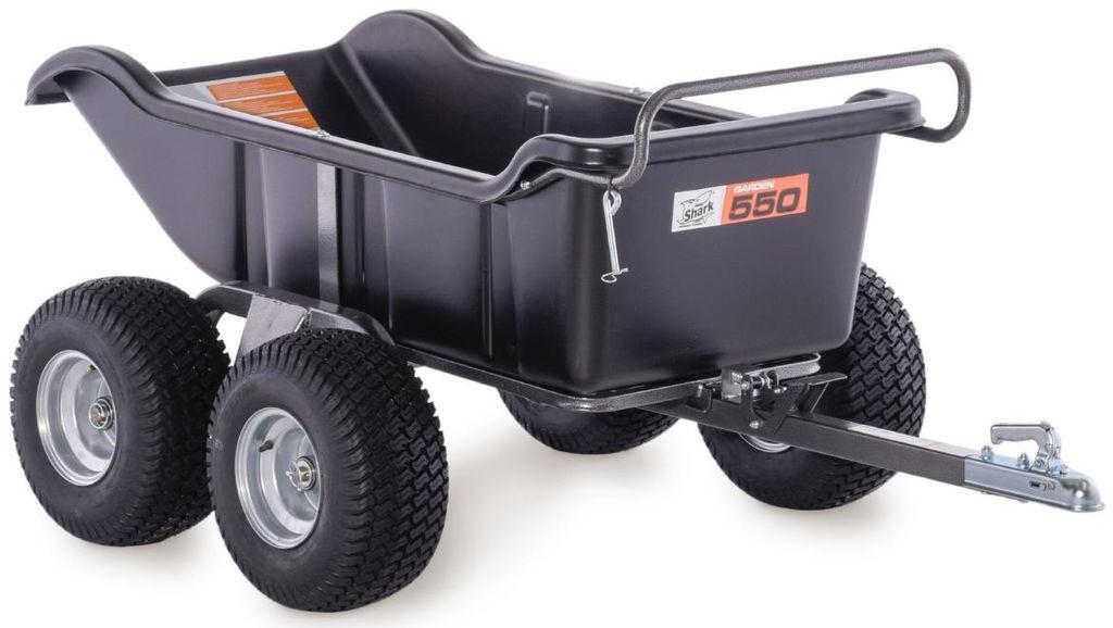 Obrázek produktu SHARK ATV TRAILER GARDEN 550 ČERNÝ, 4 WHEEL (800-SP-BL) 800-SP-BL