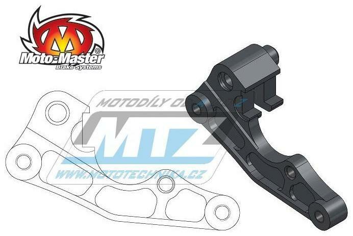 Obrázek produktu Adaptér brzdového kotouče pro průměr 270mm - MotoMaster Oversize Adapter - Kawasaki KX125+KX250+KXF250+KXF450 / 06-19 + KLX400R+KLX450R / 03-18 + Suzuki RMZ250 / 07-19 + RMZ450 / 05-19 + RM125+RM250 / MM211047