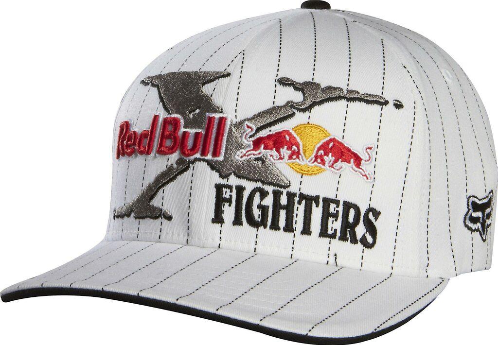 Obrázek produktu Čepice/Kšiltovka FOX Flexfit Red Bull X-Fighters Core bílá  S/M (16104) FX68304-008