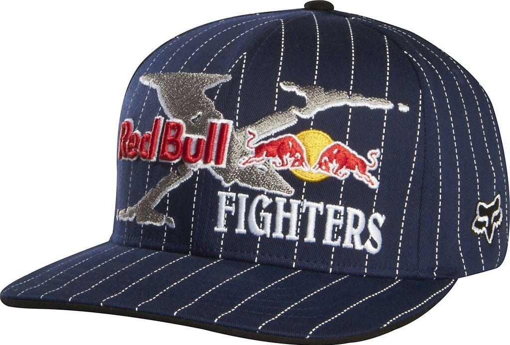 Obrázek produktu Čepice/Kšiltovka FOX Flexfit Red Bull X-Fighters Core modrá  S/M (16102) FX68304-007