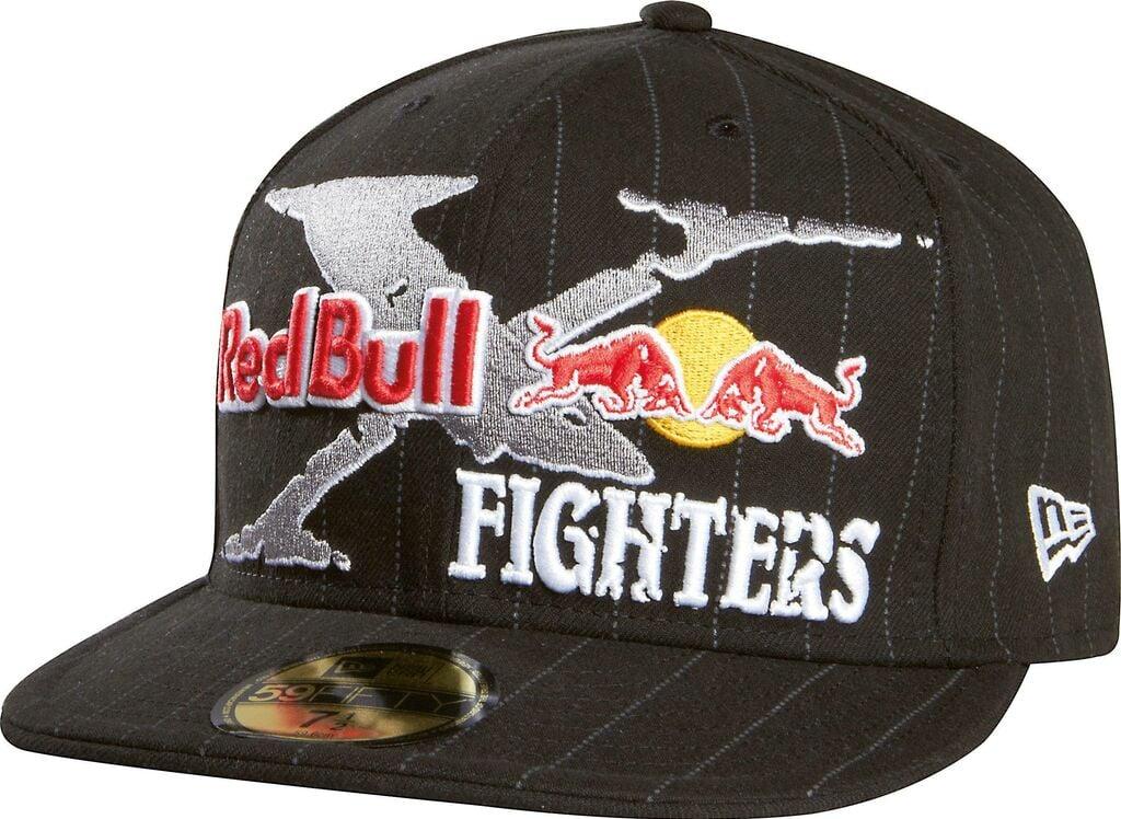 """Obrázek produktu Čepice/Kšiltovka FOX Red Bull X-Fighters Core New Era - černá  S = 7 1/8"""" (16100) FX68307-515-S"""